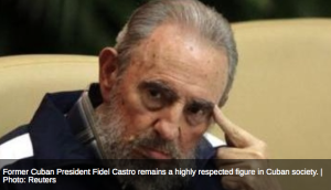 Fidel Castro-Photo Reuters